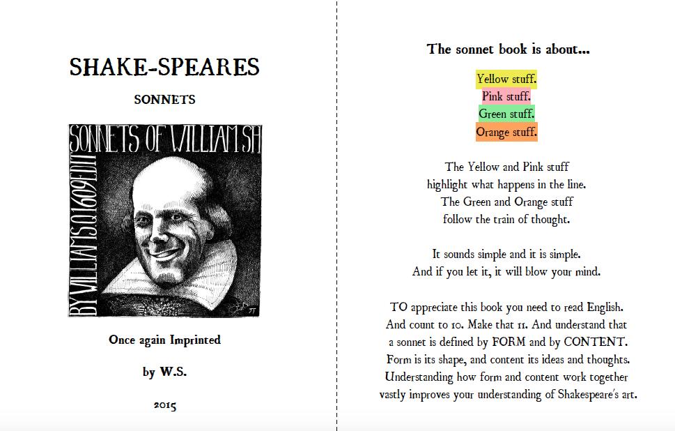 Breakdown Sonnetbook